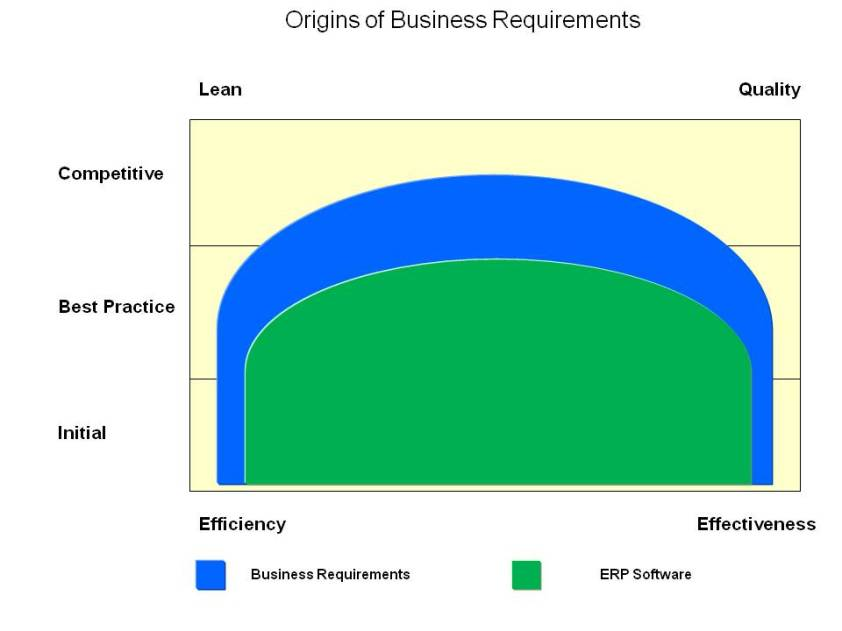 How ERPs address business requirements