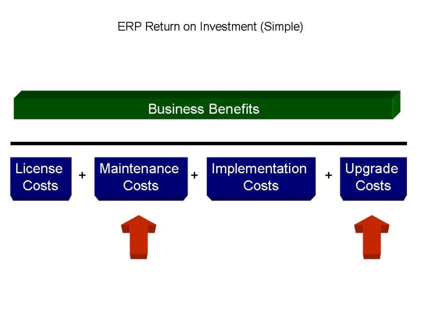 ERP Return On Investment Analysis