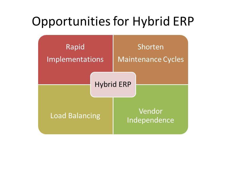 Advantages for Hybrid ERP Deployments