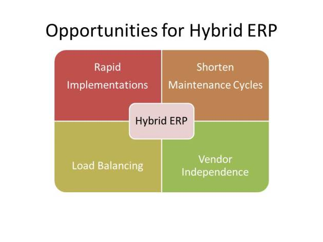 Advantages for Hybrid ERP Deployments